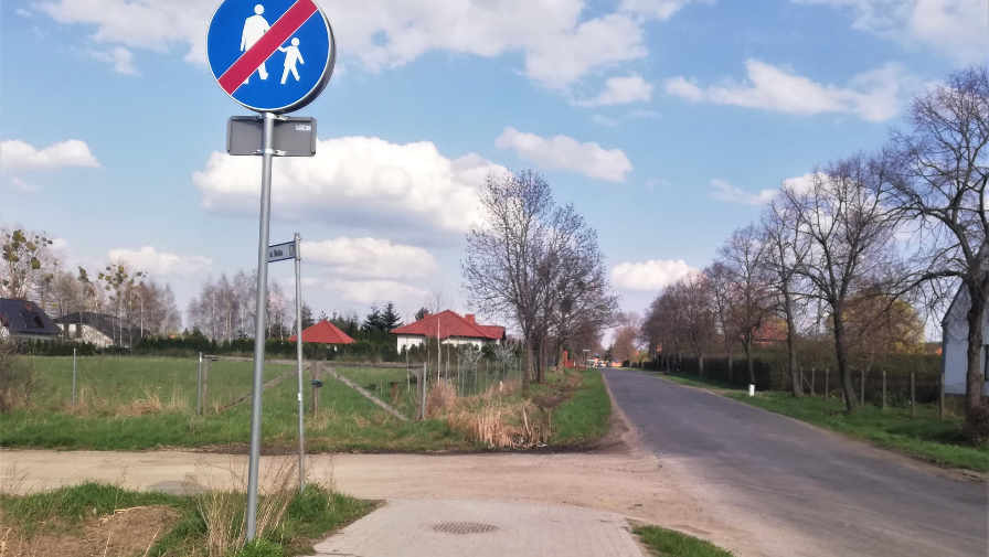 Będzie ścieżka w Konarzewie i łącznik między Koźmińską a Mahle